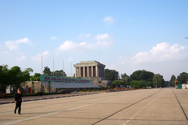 Ho Chi Minh's Tomb. Hanoi, Vietnam