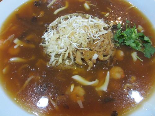 台南推薦餐廳-到台南商務會館參加公司尾牙聚餐 (13)_雞汁燴鮑魚絲羮