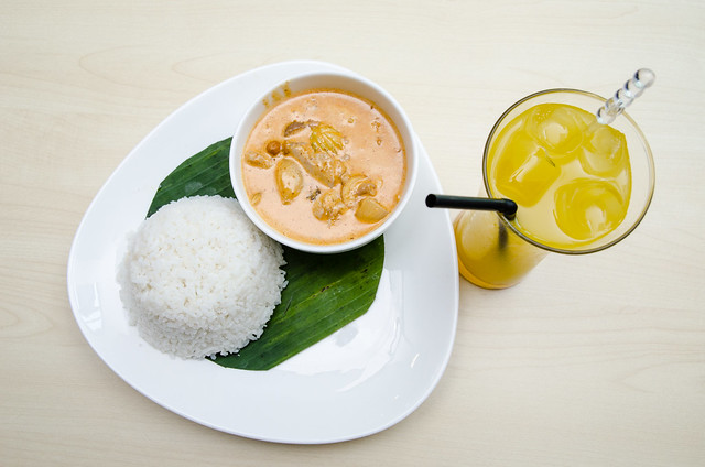 Massaman Curry set at Café 9, a Taste of Thai at Seksyen 17, Petaling Jaya