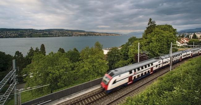 Švýcarský železniční ráj v Plzni.