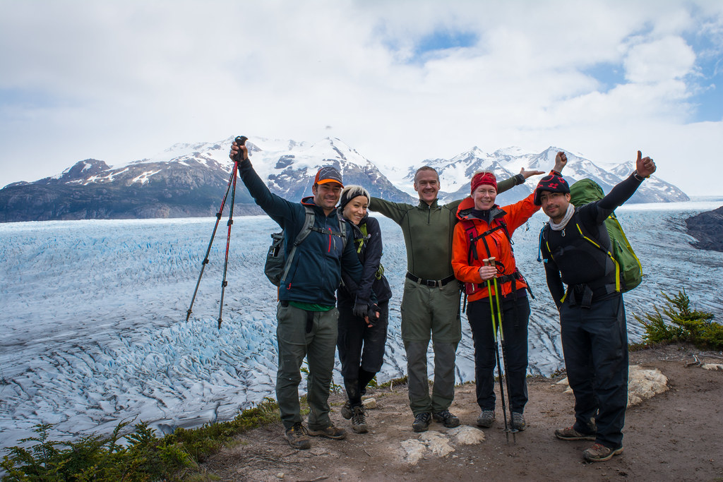 We reached the immensity of the Southern Patagonian Ice Field