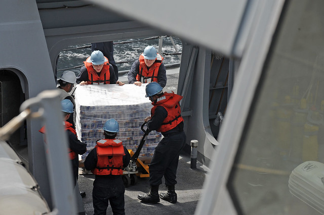 USS San Diego Conducts RAS