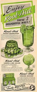 Vintage Ad: Kool-Aid Recipes!
