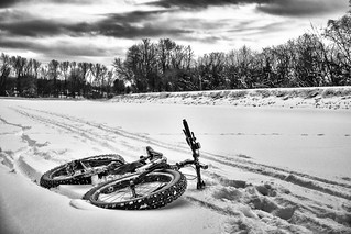 Fatbiking on the Erie Canal