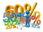 ofertas, chollos, liquidaciones de stock, regalos y promociones, rebajas de productos
