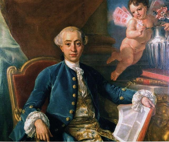 Retrat de Giacomo Casanova, atribuït a Francesco Narici, 1760