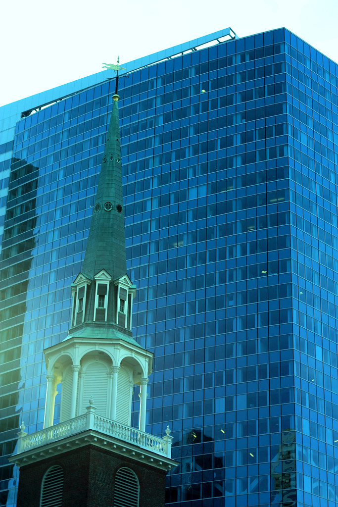 Blog Boston Church and glass building