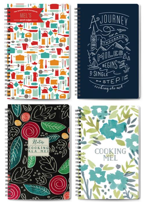 Minted Journals | cookingalamel.com