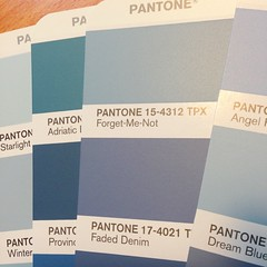 """My love please """"Pantone 15-4312 TPX"""". #lol while working #graphicdesign #color #pantone #love #quote"""