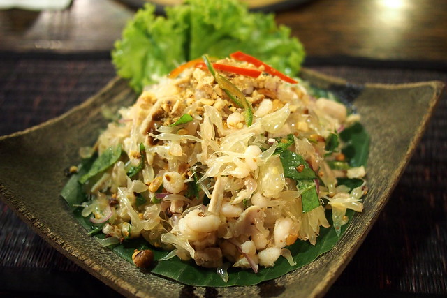 pomelo salad, The Sugar Palm Restaurant, Siem Reap, Cambodia