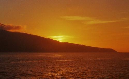 africa sunset sea orange sun evening mediterranean morocco oldphoto goldenhour ceuta stevelamb spanishmoroco