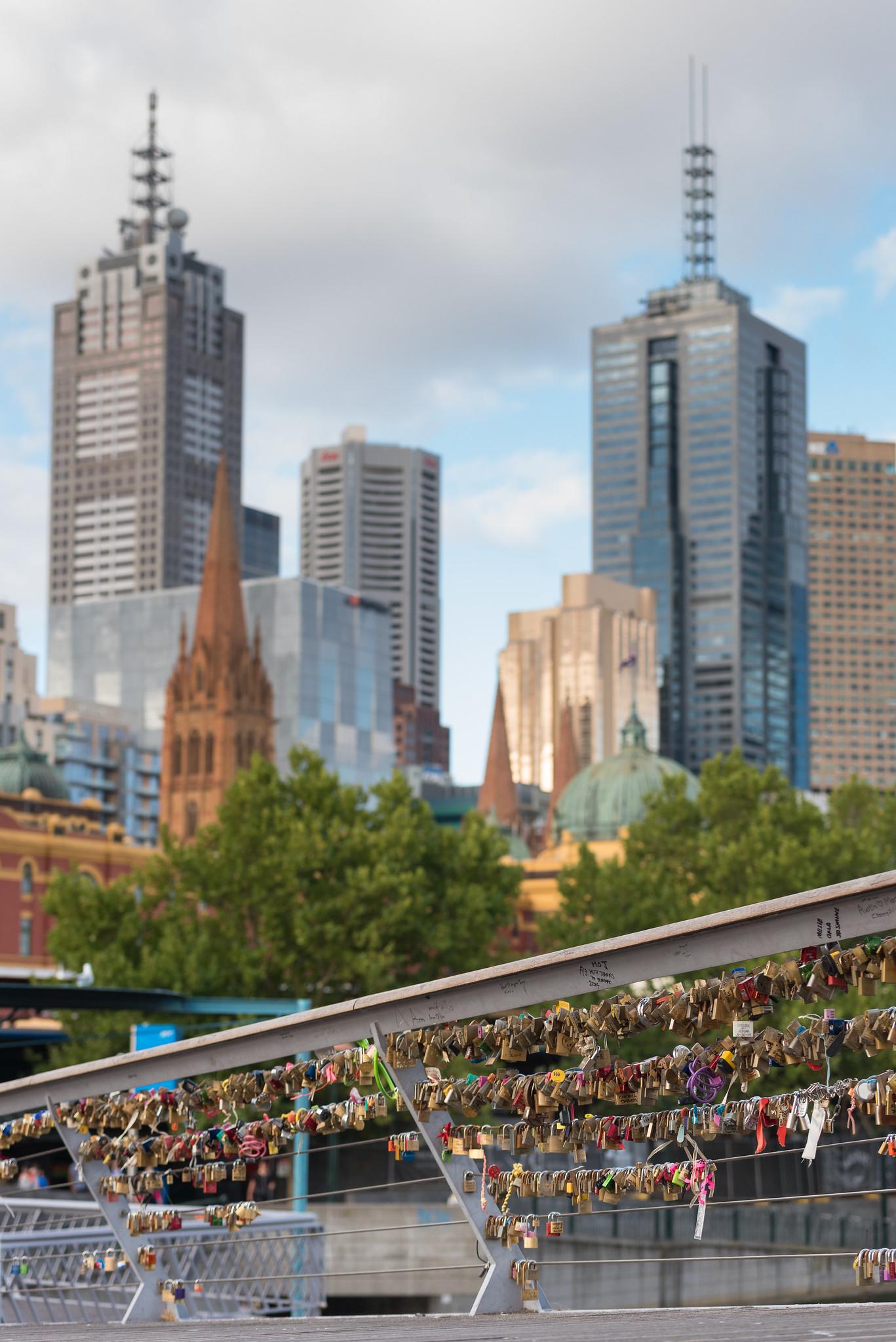 Melbourne Love Bridge
