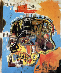 Untitled_acrylic_and_mixed_media_on_canvas_by_Jean-Michel_Basquiat-1984 from Wikipedia