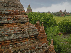 View of a Few of the Temples of Bagan from Ananda Temple