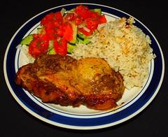 Caraway, Garlic & Mustard Pork Steak
