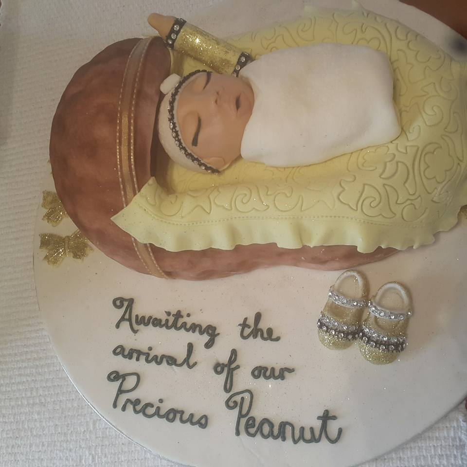 Cute Cake for Cute Little One by Shaneeza Sha