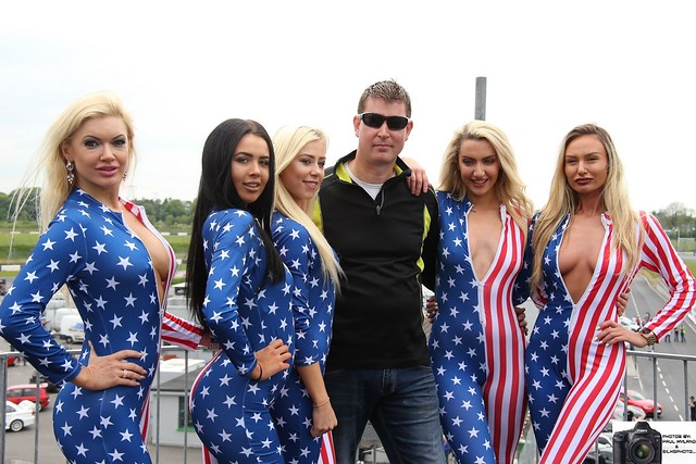 Mr Hobbs Coffee Promo American Allstar Team at Fundracer in Mondello Park