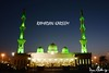 -Ramadan Kareem- Night view of the Beautiful Mosque at Saudi--UAE border