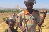 Hochlandbewohner Semien-Gebirge in Äthiopien. Foto: Gaby Hupfauer.