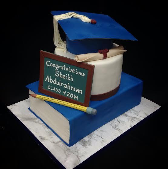 Graduation Cake by Arjel Abila