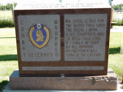 06-24-2016 Ride Cadot Veterains Memorial - Purple Heart Memorial