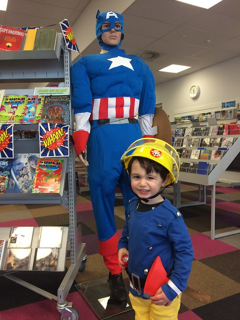 Fireman Sam and Captain America