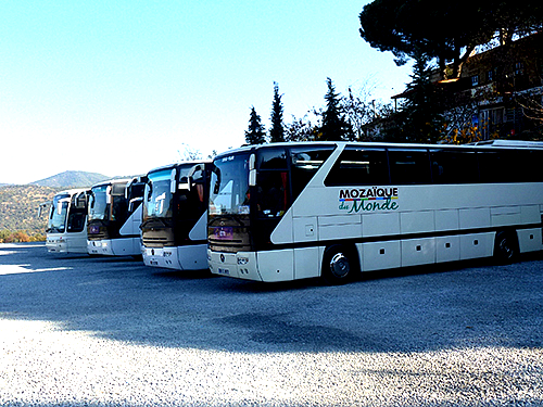 Where tourist attractions obtain some recognition, it is inevitable that numerous tour buses will crowd the car parks as Mass Tourism predominates, and this is prevalent in Turkey as anywhere else.