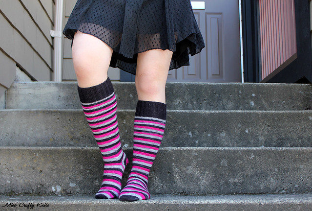Domestic Badass Knee Socks 5