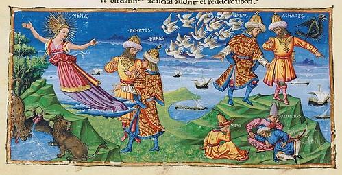 009-Bucolicon-Georgicon-Aeneis-1450-1460- Biblioteca Riccardiana de Florencia