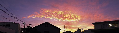 sunset orange cloud apple japan aperture dragon 日本 fujifilm fujinon sunsetclouds yamanashi kofu x10 夕焼け appleaperture 山梨県 superebc eveninglandscape 甲府市 potopoto53age orangedragon fujifilmx10 fujinonsuperebc21mm~112mmf20~f28 21mm~112mm f20~f28