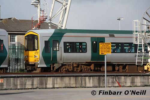 ireland irish train rail railway trains railways limerick 2013 2700class limerickcolbertstation finbarroneill finnyus