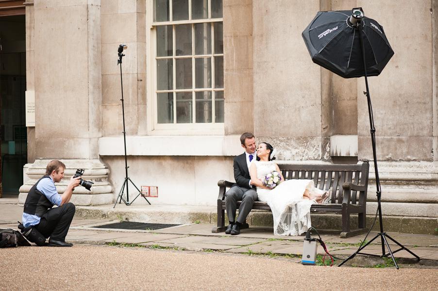 Wedding in Royal Naval
