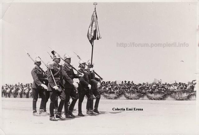 Garda drapel pompieri 10 mai 1935