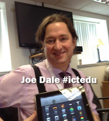 Joe Dale at #ictedu