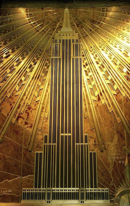 The Great Gatsby Style Art Deco AphroChic Modern
