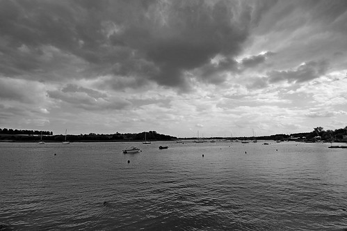 Woodbridge, Suffolk (B/W)