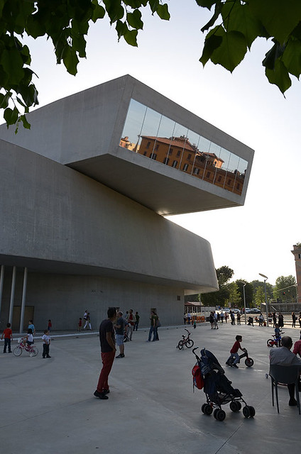 MAXXI - Museo d'Arte del XXI secolo di Zaha Hadid