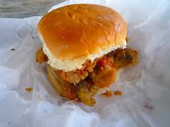 oyster sandwich, VA
