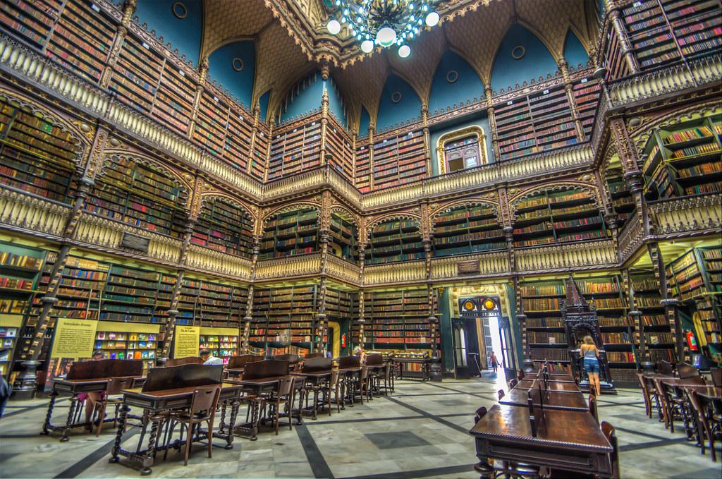 リオの幻想図書館 Real Gabinete Portugues de Leitura