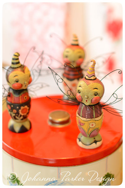 Butterfly-Egg-Cup-Trio