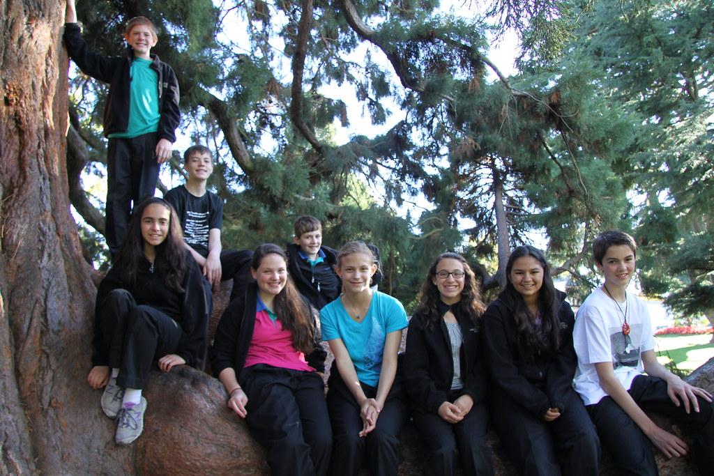 Colorado Children's Chorale at Christchurch Botanic Gardens