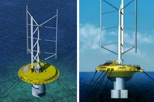 Плавучий гибрид ветряной турбины и приливной электростанции появится рядом с побережьем Японии