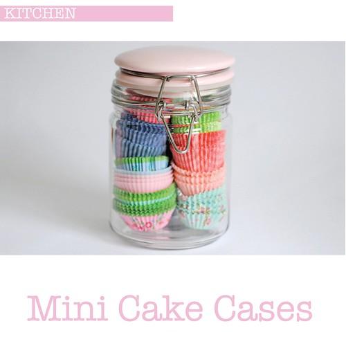 Mini cake cases