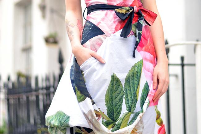 Vivienne Westwood floral dress outfit 7
