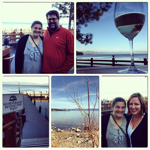 Day on the lake with @chrisheuer and @chloealexmayer #instacollage #tahoe #laketahoe #westshore