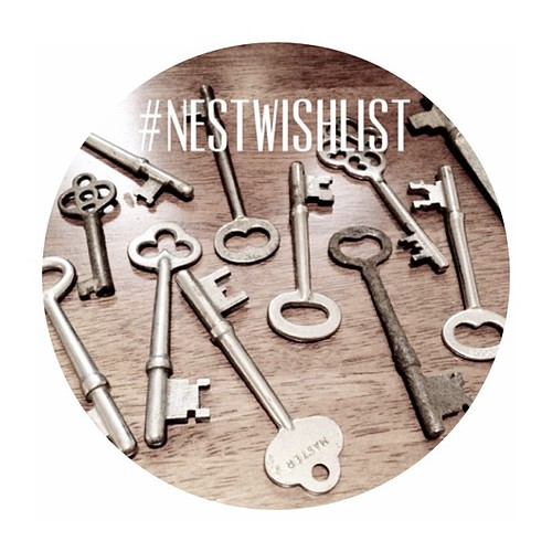 Get your #NestWishList requests into me! I'm headed to the flea this weekend! :) just tweet or Instagram your list with the #NestWishList hashtag and I will add them to the list on the blog!