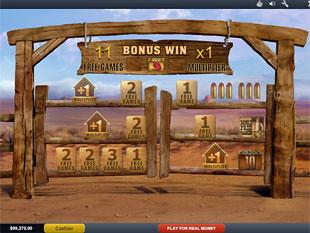 free John Wayne bonus game