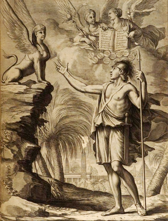 Athanasius kircher and the hieroglyphic sphinx the public domain athanasius kircher and the hieroglyphic sphinx fandeluxe Choice Image