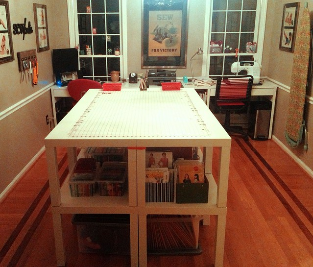 New sewing room furniture 2013 flickr photo sharing for Sewing room furniture