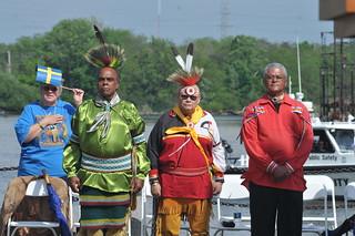 Delegation der Lenni Lenape in ...